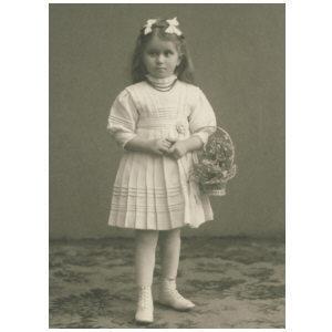 Flower girl 1910