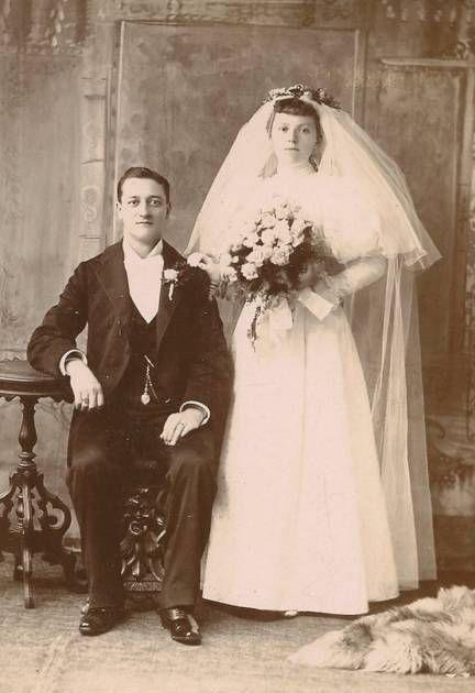 Bride c.  1890 photo