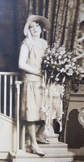 bride c. 1920 phjoto