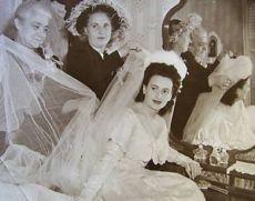 Bride c 1940