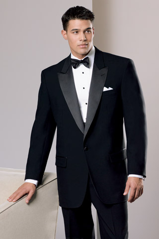 Black Bridesmaid Dress on Tuxedos For Gay Weddings