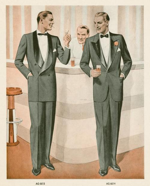 1930 fashion print